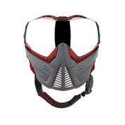 Push Unite Paintball Maske, grau rot Bild 2