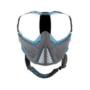 Push Unite Paintball Maske, grau blau Bild 2