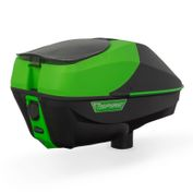 Spire IR Hopper Loader Virtue Paintball, lime/black Bild 3