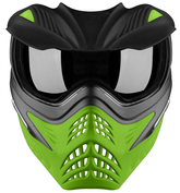 VForce Grill Paintballmaske, Grey on Lime Bild 2