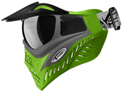 VForce Grill Paintballmaske, Grey on Lime Bild 3
