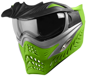VForce Grill Paintballmaske, Grey on Lime Bild 5