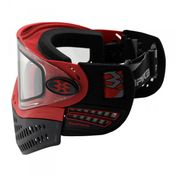 Empire E-Flex Paintballmaske, rot Bild 4