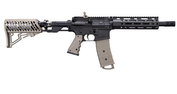 Tippmann TMC Elite (Dark Earth) mit  Air Thru Stock und M-Lok Handguard, 8,25""