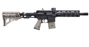 "Tippmann TMC Elite (Dark Earth) mit  Air Thru Stock und M-Lok Handguard, 8,25"" Bild 2"