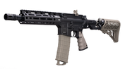 "Tippmann TMC Elite (Dark Earth) mit  Air Thru Stock und M-Lok Handguard, 8,25"" Bild 3"