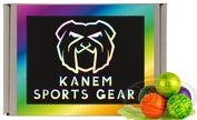 Kanem Sports Gear Rainbow Paintballs 500 Stück, Cal.68 001
