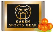 Kanem Sports Gear Gold Paintballs, 500 Stück, Cal.68 Bild 1