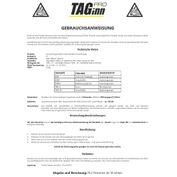 Taginn AFG-6 Airsoft Granate mit Kipphebel (schwarz/gelb) Bild 3