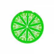 """KM Dagger Speedfeed Rotor, """"Neon Green"""" 001"""