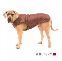 Wolters Outdoorjacke Jack braun Hundemantel Hunde Outdoorjacke