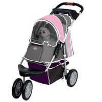 InnoPet® buggy First Class Hundebuggy Hundewagen Pet Stroller Pink