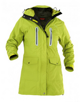 Owney Arnauti Parka Damen Outdoor Langjacke Damenjacke Outdoorjacken acid green-anthrazit