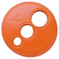 Wolters Rogz Beltz Hundespielzeug RFO Frisbee - schwimmfähig - orange 23cm