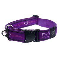 Wolters Rogz Beltz Hundehalsband - Chrome purple
