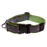 Wolters Rogz Beltz Hundehalsband - Lime Bones