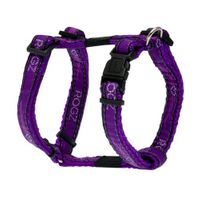 Wolters Rogz Beltz Hundegeschirr - Chrome purple M - XL