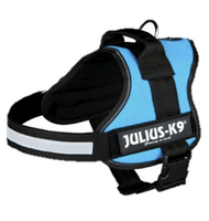 Julius-K9 Powergeschirr Gr. 0-3 Hundegeschirr aquamarin M-XL