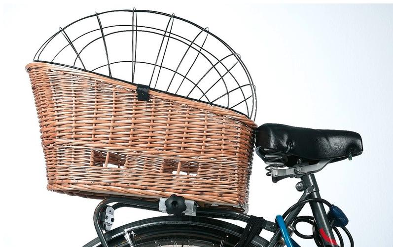 hunde fahrradkorb vollweide mit klammer hundeshop auto. Black Bedroom Furniture Sets. Home Design Ideas