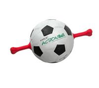 Action Ball Hundespielzeug -mit roten Vollgummigriffen
