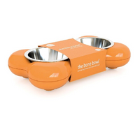 Futternapf The Bone Bowl - Orange - Hundenapf