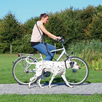 Hunde Activity Fahrrad- und Joggingleine 1,00-2,00m /25mm schwarz - Hundeleine