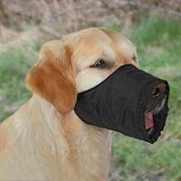 Hunde Maulschlaufe, Polyester schwarz XS-XL Polyestermaulschlaufe