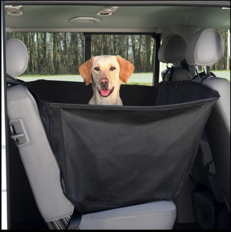 Hunde Autoschondecke Maße: 1,50 × 1,35 m schwarz Hundedecke