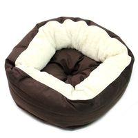 Wolters Lotus Katzen-Donut Kuschelnest Katzenbett Hundekissen Hundekorb espresso