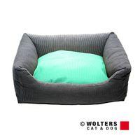 Wolters Kuschel-Lounge Royal Dreams eckiges Nylonbett mocca/mint S - XL