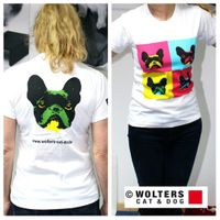 Wolters Damen T-Shirt Pop-Art French Bully