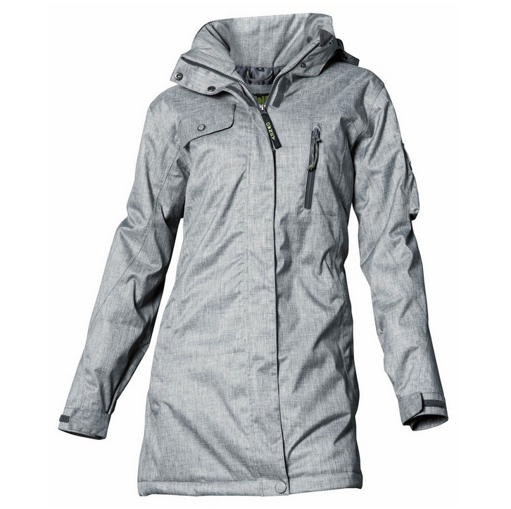 Outdoor jacke damen lang
