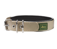 Hunter Hunde Halsband Convenience Comfort® taupe