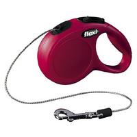 Flexi New Classic | Rot | Seil-Roll-Leine XS