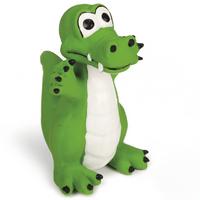 Latex Krokodil Hundespielzeug Wasserspielzeug