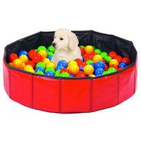 Hundespielplatz / Welpenspielplatz --Hundepool inkl. Bällebad 250 Stk.
