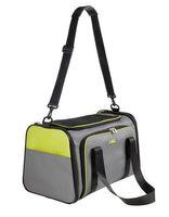 Hunter® Hundeflugtasche Sydney Tragetasche für Hunde grün/grau
