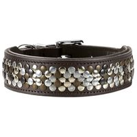 Hunter® Softvollrindleder Halsband Arizona braun