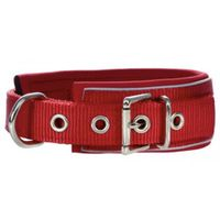 Hunter® Nylon/Neopren Halsband Neopren Reflect rot
