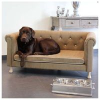 Hundesofa Happy House® -- XXL Sofa Padded Collection -- Beige-Braun