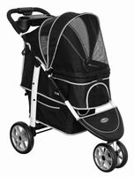InnoPet® buggy Monaco Hundebuggy schwarz/grau