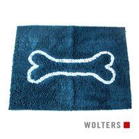 Wolters Dirty Dog Doormat smart petrol/türkis Hunde Schmutzfangmatte