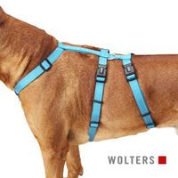 Wolters Soft & Safe No Escape Hundegeschirr aqua