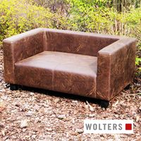 Wolters First Class Lounge Kunstleder L + XL schwarz