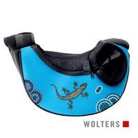 Wolters Sunset Bodypack Neopren Hunde Tragetasche aqua