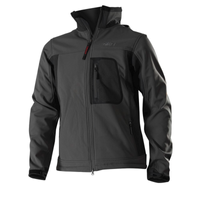 Owney Outdoor Softshell-Jacke Companion Unisex grau