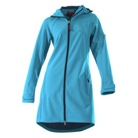 Owney Outdoor Softshell-Mantel City Hiker Damen aqua