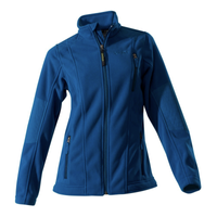 Owney Fleece-Jacke Damen Juneau petrol