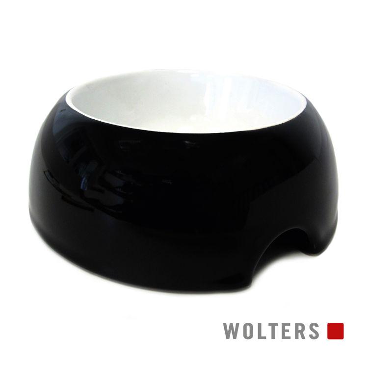 Wolters Grey Essentials Futterschale schwarz/weiß