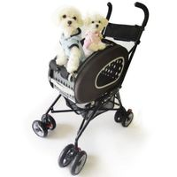 Pet Stroller InnoPet® -5 in 1 chocolate Hundewagen bis 7kg